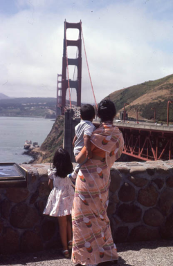 Photo Saarika Sharma (Indian-American  Heritage Project), San Francisco, 1983