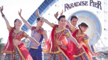 Diwali celebration at Disney California Adventure Park in Anaheim, CA. (Scott Brinegar/Disneyland Resort via AP)