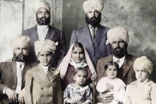 Early Punjabi Immigrants to America. Source: Wikipedia