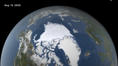 Arctic Sea Ice Min 2020 web